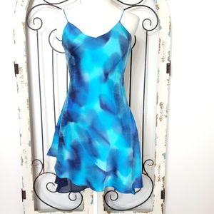 Ashlee silk low-back dress size 8